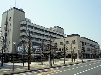 Tsuyama - Tsuyama city hall