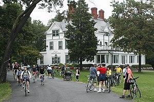 Twin Oaks (Washington, D.C.) - Front of Twin Oaks
