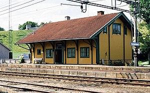 Tyristrand - Tyristrand Train Station