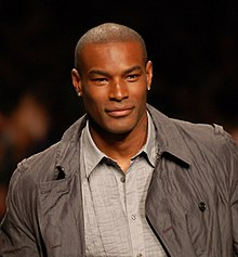 "Tyson Beckford, chosen by music cable network Vh1 as ""Man of the Year"