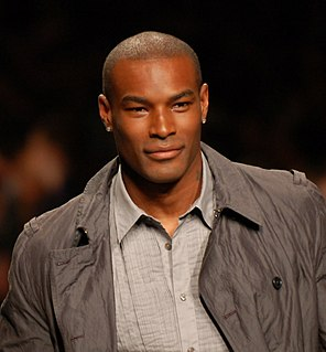 Tyson Beckford American model and actor