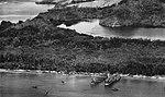 U.S. Navy tank landing ships during the landings at Hollandia, New Guinea, 22 April 1944.jpg