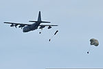 U.S. Soldiers with the 1st Battalion, 10th Special Forces Group conduct a training jump from an Air Force C-130 Hercules aircraft at the 7th U.S. Army Joint Multinational Training Command's Grafenwoehr Training 130807-A-BS310-023.jpg