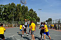 U.S. Soldiers with the 5th Battalion, 7th Air Defense Artillery Regiment and Israeli soldiers compete in a basketball game during a field competition as part of Austere Challenge 2012 in Hazor, Israel 121101-F-QW942-464.jpg