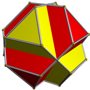 Compound of two truncated tetrahedra - Image: UC54 2 truncated tetrahedra