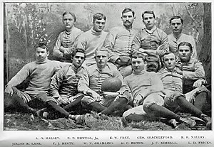 Charles Herty - Herty formed and coached the first varsity football squad at the University of Georgia in 1892
