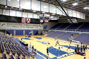 North Florida Ospreys - Men's basketball practice at UNF Arena
