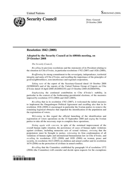 File:UN Security Council Resolution 1842.djvu