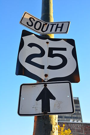 U.S. Route 25 in North Carolina - Image: US25South Asheville