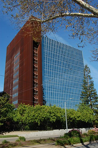 Santa Clara County, California - Santa Clara County Government Center in Central San Jose.