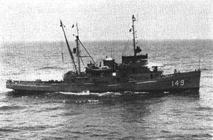 USS Atakapa (ATF-149) - USS Atakapa (ATF-149) c1954