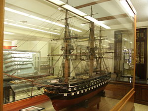 USS Delaware (1820) - Model of USS Delaware