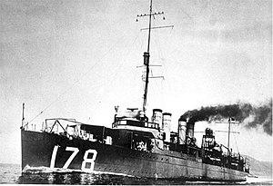 USS Hogan (DD-178)