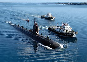 image illustrative de l'article USS San Francisco (SSN-711)