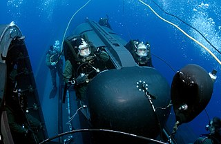 SEAL Delivery Vehicle Manned wet submersible for deploying Navy SEALS