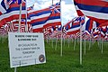 US Navy 071208-M-7173M-011 Hawaiian flags blow in the breeze at Pearl Harbor to remember U.S. Marines who were deployed from Hawaii to Iraq and Afghanistan and were killed in action.jpg