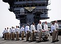 US Navy 090622-N-6854D-002 Chief petty officers assigned to Carrier Air Wing (CVW) 7 carry the casket of Command Master Chief Jeffrey J. Garber.jpg