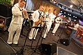 US Navy 091026-N-6220J-001 The Navy Band, New Orleans Express, performs live in the Fox-26 television studio during Houston Navy Week, one of 21 Navy Weeks held across America this year.jpg