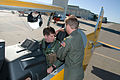 US Navy 110412-N-LY958-161 Vice Adm. Allen G. Myers prepares for a flight in a T-6 Texan.jpg
