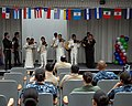 US Navy 111006-N-UD469-004 The Montgomery High School Mariachi Band entertains Sailors and civilian employees.jpg