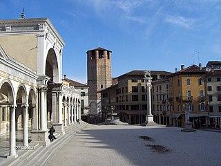 square in Udine, Italy