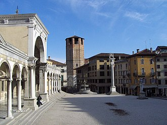 Udine - Piazza della Libertà and the Loggia di San Giovanni