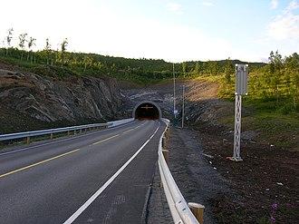 European route E12 - E 12 in Norway