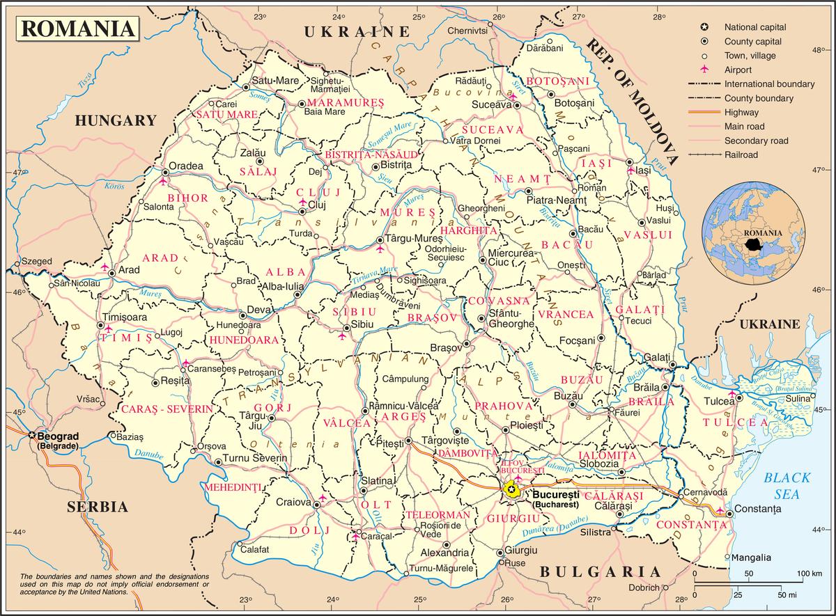romanian piirikunnat � wikipedia