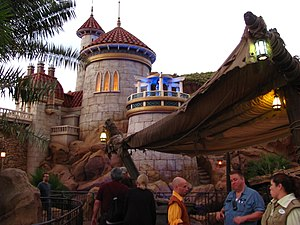 The Little Mermaid: Ariel's Undersea Adventure - Facade of the attraction at the Magic Kingdom.