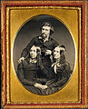 Unidentified Artist - Mathew Brady, Juliet Brady and Mrs. Haggerty - Google Art Project.jpg