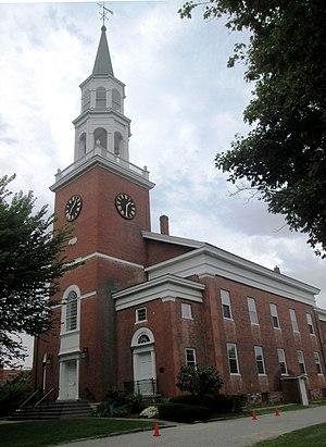 Unitarian Church (Burlington, Vermont) - Image: Unitarian Church Burlington Vermont