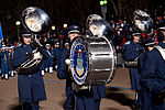 United States Air Force Band passes presidential reviewing stand 130121-Z-QU230-342.jpg