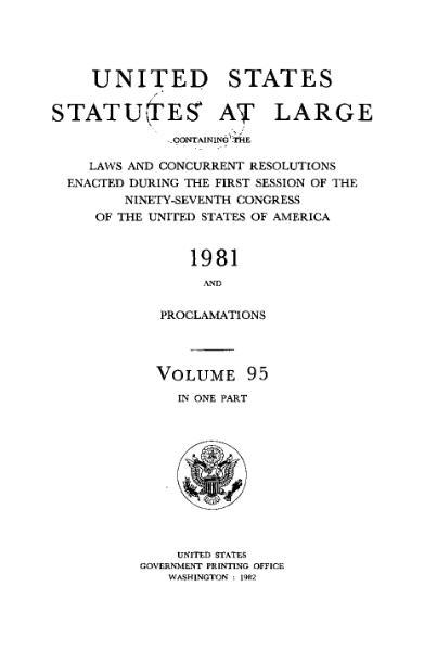 File:United States Statutes at Large Volume 95.djvu
