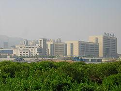 Macau New Campus Located On Hengqin Island