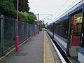 Upminster station Romford shuttle bay looking east.JPG