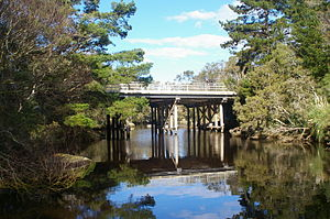 King River (Great Southern, Western Australia) - Upper King River Bridge South Coast Highway near Albany, Western Australia