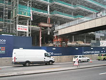 Upper Thames Street site of All-Hallows-the-Less.JPG