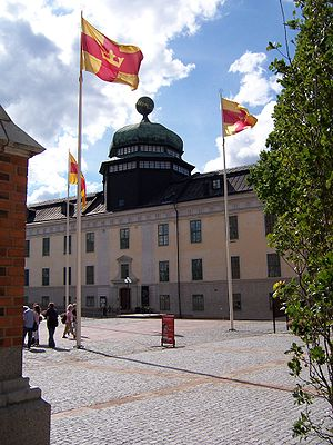 Uppsala University - Gustavianum, built 1622–1625 and now a museum.