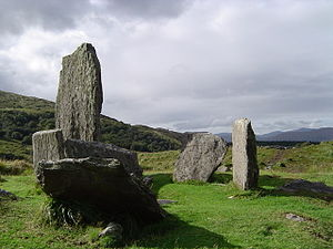 Uragh Stone Circle - Another view.