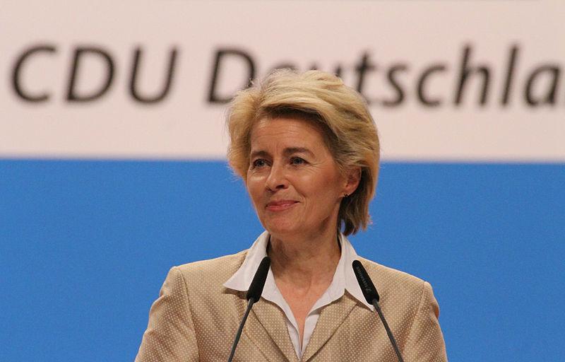 File:Ursula von der Leyen CDU Parteitag 2014 by Olaf Kosinsky-2.jpg