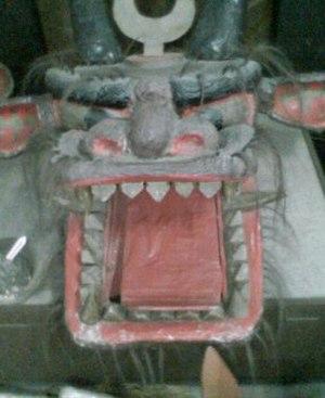 Uwajima, Ehime - Image: Ushioni mask