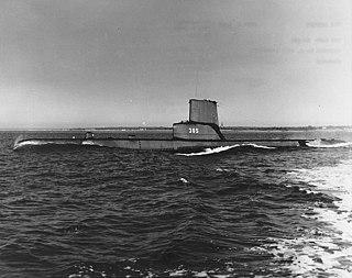 USS <i>Bang</i> Balao-class submarine