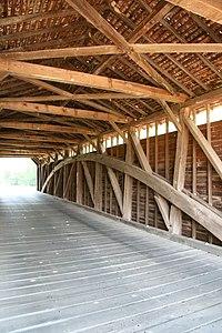 Utica Covered Bridge interior.jpg