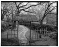 VIEW OF HINOKI GATE - Kykuit, Japanese Gardens, 200 Lake Road, Pocantico Hills, Westchester County, NY HABS NY,60-POHI,1E-14.tif