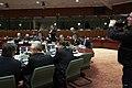 Valdis Dombrovskis piedalās Eiropadomes sanāksmē (8272692888).jpg