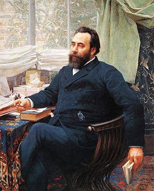 Valtazar Bogišić - Valtazar Bogišić by Vlaho Bukovac, 1892