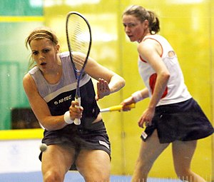 Vicky Botwright - Vicky Botwright (left)  Vanessa Atkinson , 2007