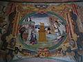 Varallo, Sacra monte, Cappella 9-L'Angelo Avvisa San Giuseppe di Fuggire in Egitto 04.JPG