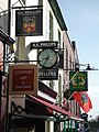 Various signs above shops on Gloucester Road, Ross-on-Wye - geograph.org.uk - 1192886.jpg