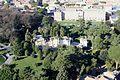 Vatikan, Blick vom Petersdom zur Wohnanlage Pius IV und zur Pinakothek, Bild 1.JPG